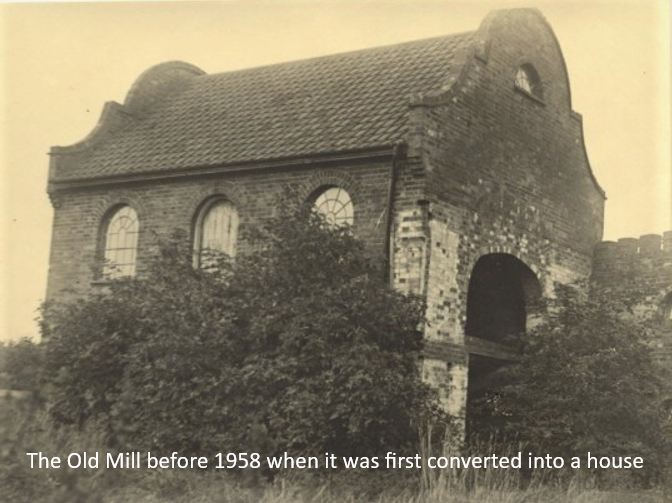 The Mill before it was converted to a house